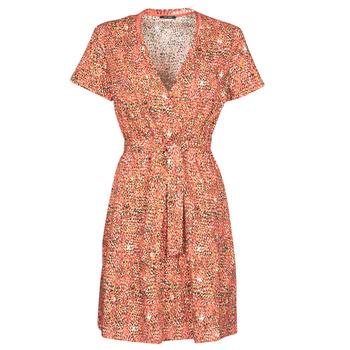 tekstylia Damskie Sukienki krótkie One Step REY Czerwony