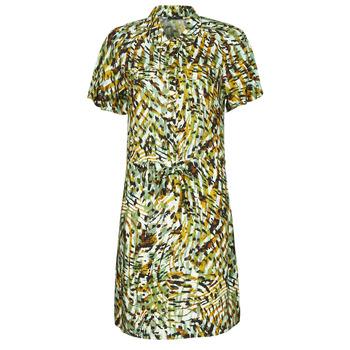 tekstylia Damskie Sukienki krótkie One Step RAINBOW Zielony