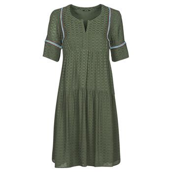 tekstylia Damskie Sukienki krótkie One Step RAFIA Kaki