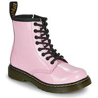 Buty Dziewczynka Buty za kostkę Dr Martens 1460 J Różowy
