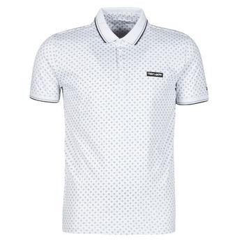 tekstylia Męskie Koszulki polo z krótkim rękawem Teddy Smith PASY 2 MC Biały