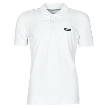 tekstylia Męskie Koszulki polo z krótkim rękawem Teddy Smith P-NARK Biały