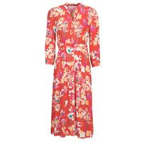 tekstylia Damskie Sukienki długie Rip Curl SUGAR BLOOM DRESS Czerwony