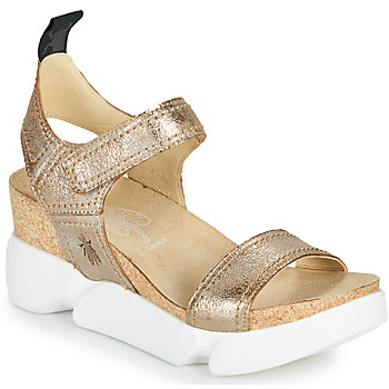 Buty Damskie Sandały Fly London SENA Złoty