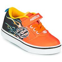Buty Chłopiec Buty na kółkach Heelys PRO 20 X2 Czarny / Pomarańczowy