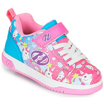 Buty Dziewczynka Buty na kółkach Heelys DUAL UP X2 Różowy / Niebieski