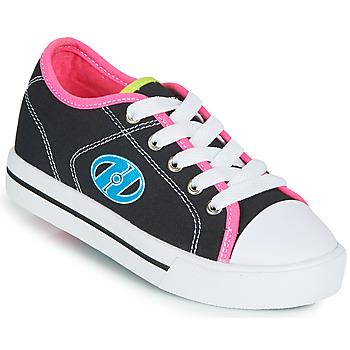 Buty Dziewczynka Buty na kółkach Heelys CLASSIC X2 Czarny / Różowy / Niebieski