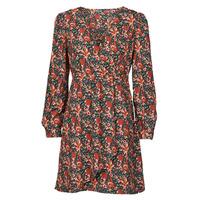 tekstylia Damskie Sukienki krótkie Betty London NOMIM Czarny / Czerwony