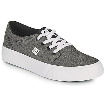 Buty Chłopiec Buty skate DC Shoes TRASE B SHOE XSKS Szary