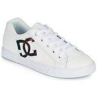 Buty Damskie Buty skate DC Shoes CHELSEA J Biały / Różowy