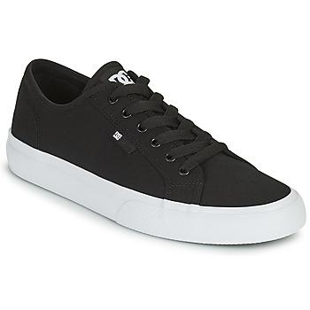 Buty Męskie Buty skate DC Shoes MANUAL Czarny / Biały