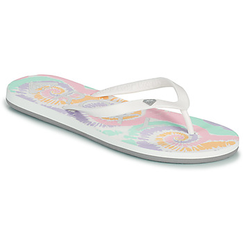 Buty Damskie Japonki Roxy TAHITI VII Biały / Różowy