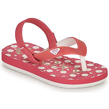 Buty Dziewczynka Japonki Roxy TW TAHITI VI Różowy