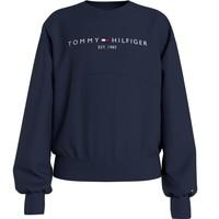 tekstylia Dziewczynka Bluzy Tommy Hilfiger KG0KG05764-C87 Marine