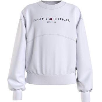 tekstylia Dziewczynka Bluzy Tommy Hilfiger THUBOR Biały