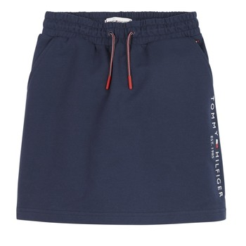 tekstylia Dziewczynka Spódnice Tommy Hilfiger JOPAS Marine