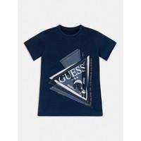 tekstylia Chłopiec T-shirty z krótkim rękawem Guess L1RI15-K8GA0-F233 Niebieski