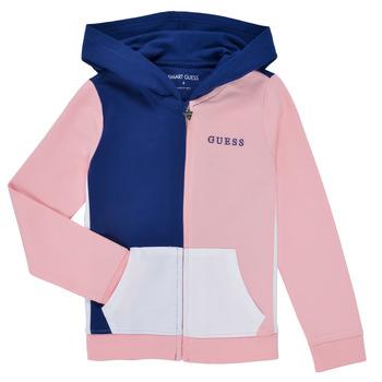 tekstylia Dziewczynka Bluzy Guess K1RQ00-KA6R0-F672 Biały / Różowy