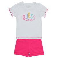 tekstylia Dziewczynka Komplet Guess A1GG07-K6YW1-TWHT Wielokolorowy