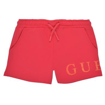 tekstylia Dziewczynka Szorty i Bermudy Guess K1GD08-KAN00-C448 Różowy