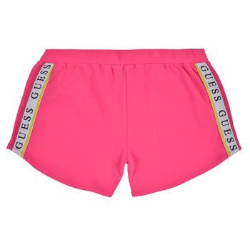 tekstylia Dziewczynka Szorty i Bermudy Guess J1GD12-KAE20-JLPK Różowy