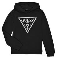 tekstylia Dziewczynka Bluzy Guess J83Q14-K5WK0-A996 Czarny