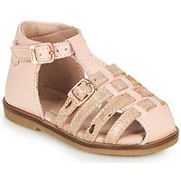 Buty Dziewczynka Sandały Aster NINI Różowy