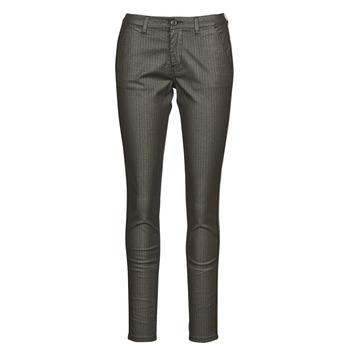 tekstylia Damskie Spodnie z pięcioma kieszeniami Le Temps des Cerises ANDREA Czarny
