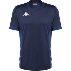 tekstylia T-shirty z krótkim rękawem Kappa Maillot  dervio violet