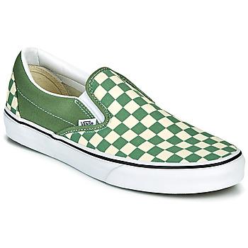 Buty Męskie Tenisówki Vans CLASSIC SLIP ON Zielony