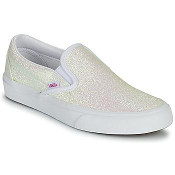 Buty Damskie Tenisówki Vans CLASSIC SLIP ON Uv / Glitter / Beżowy / Różowy