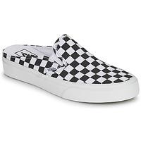 Buty Klapki Vans CLASSIC SLIP ON MULE Czarny / Biały