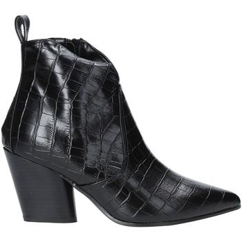 Buty Damskie Botki Grace Shoes 7241007 Czarny