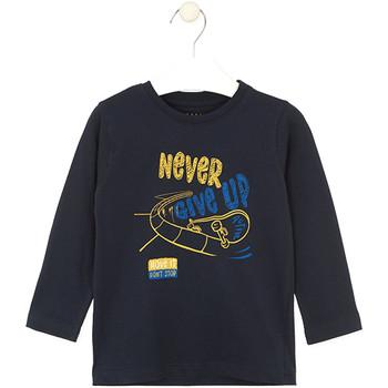 tekstylia Dziecko T-shirty i Koszulki polo Losan 025-1635AL Niebieski