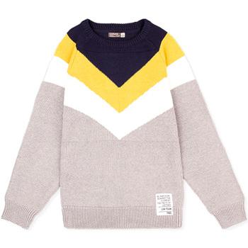 tekstylia Dziecko Swetry Losan 023-5001AL Szary
