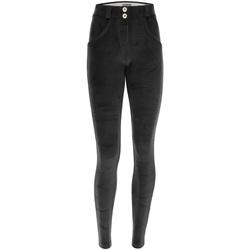 tekstylia Damskie Spodnie Freddy WRUP1RC010 Czarny