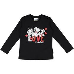 tekstylia Dziecko T-shirty i Koszulki polo Melby 40C0283DN Czarny
