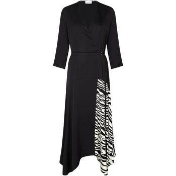 tekstylia Damskie Sukienki Calvin Klein Jeans K20K202061 Czarny
