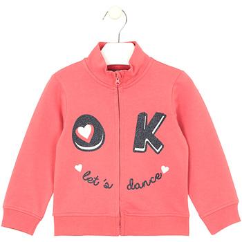 tekstylia Dziecko Bluzy Losan 026-6651AL Różowy