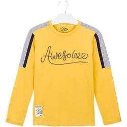 tekstylia Dziecko T-shirty i Koszulki polo Losan 023-1008AL Żółty
