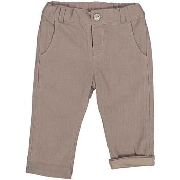 tekstylia Dziecko Spodnie Melby 20G0250 Beżowy