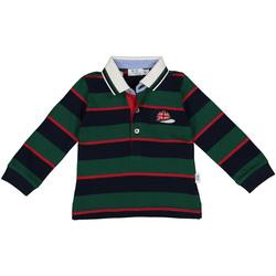 tekstylia Chłopiec Koszulki polo z długim rękawem Melby 20C0270 Zielony