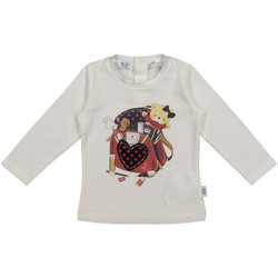 tekstylia Dziecko T-shirty i Koszulki polo Melby 20C0361 Biały