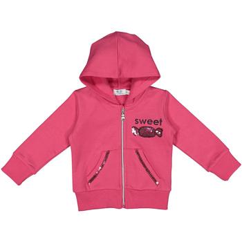 tekstylia Dziecko Bluzy Melby 20D2341 Różowy