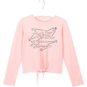 tekstylia Dziecko T-shirty i Koszulki polo Losan 024-1202AL Różowy