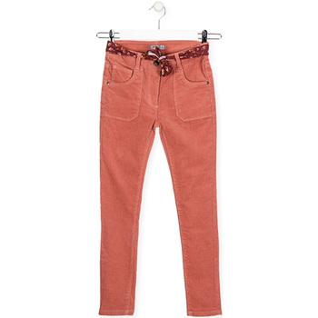 tekstylia Dziecko Jeansy slim fit Losan 024-9005AL Różowy