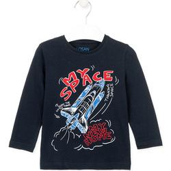 tekstylia Dziecko T-shirty i Koszulki polo Losan 025-1201AL Niebieski