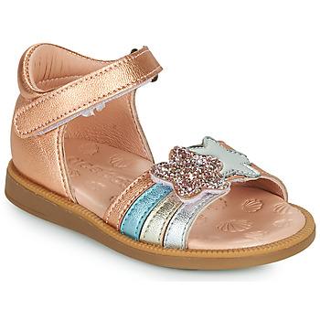 Buty Dziewczynka Sandały Acebo's 1228-RAME Brąz