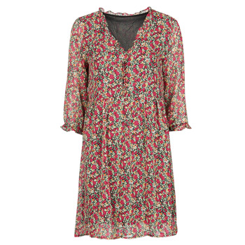 tekstylia Damskie Sukienki krótkie Betty London NEBECCA Czerwony / Wielokolorowy