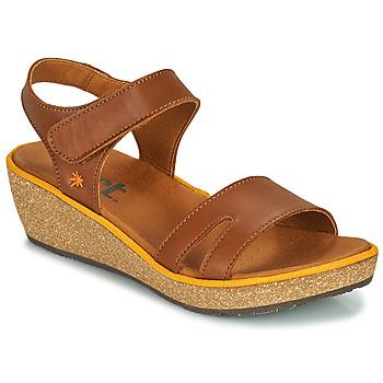 Buty Damskie Sandały Art CAPRI Brązowy